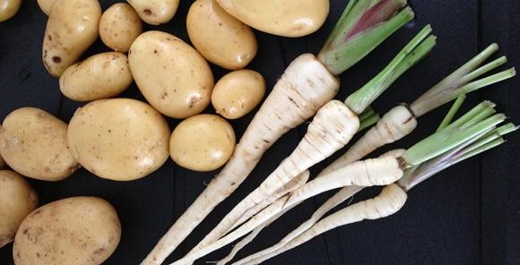 Panais et pomme de terre recette d 39 une bonne pur e - Pomme de terre sous paille ...