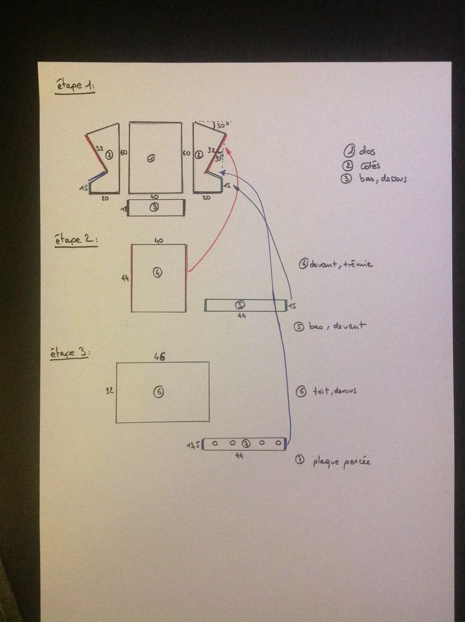 fabrication d 39 une mangeoire anti gaspillage pour poules slydventure. Black Bedroom Furniture Sets. Home Design Ideas