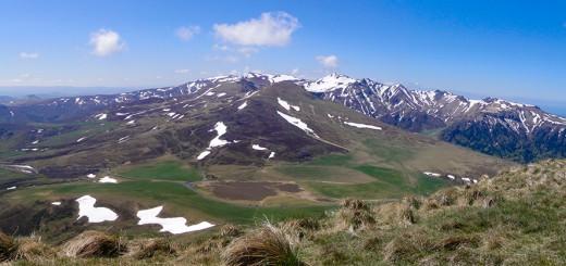 Panorama massif sancy